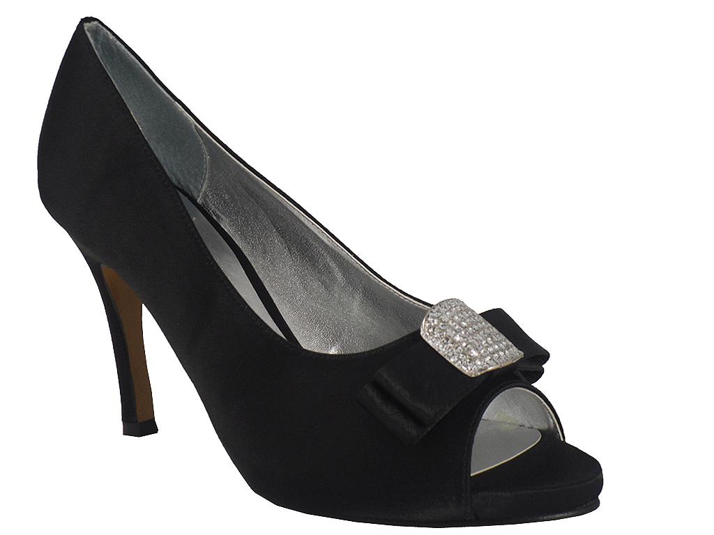 new black satin bridal bridesmaid wedding prom shoe 3 8 ebay