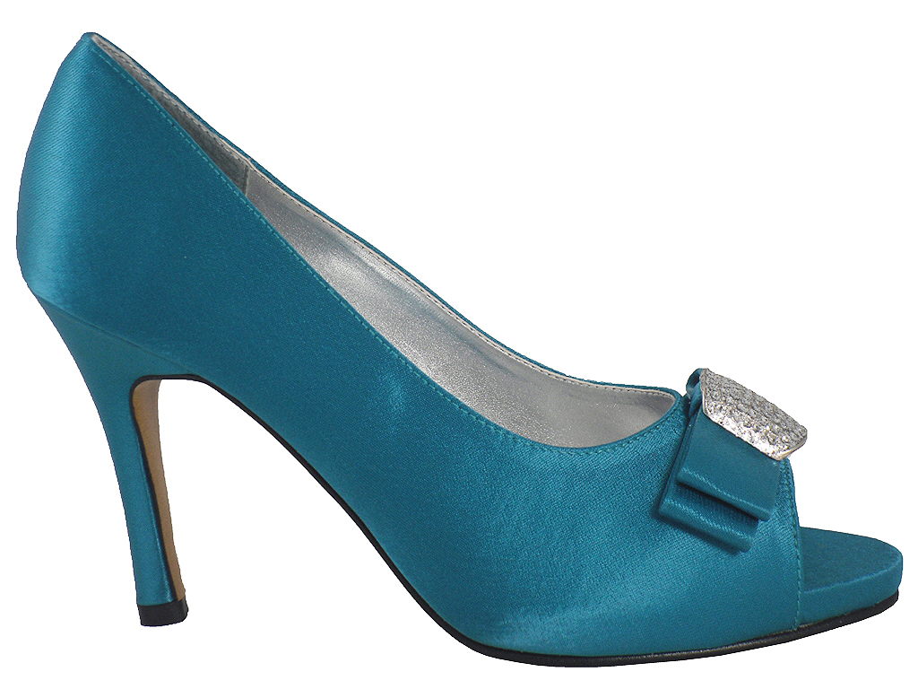 Teal Wedding Shoes 005 - Teal Wedding Shoes