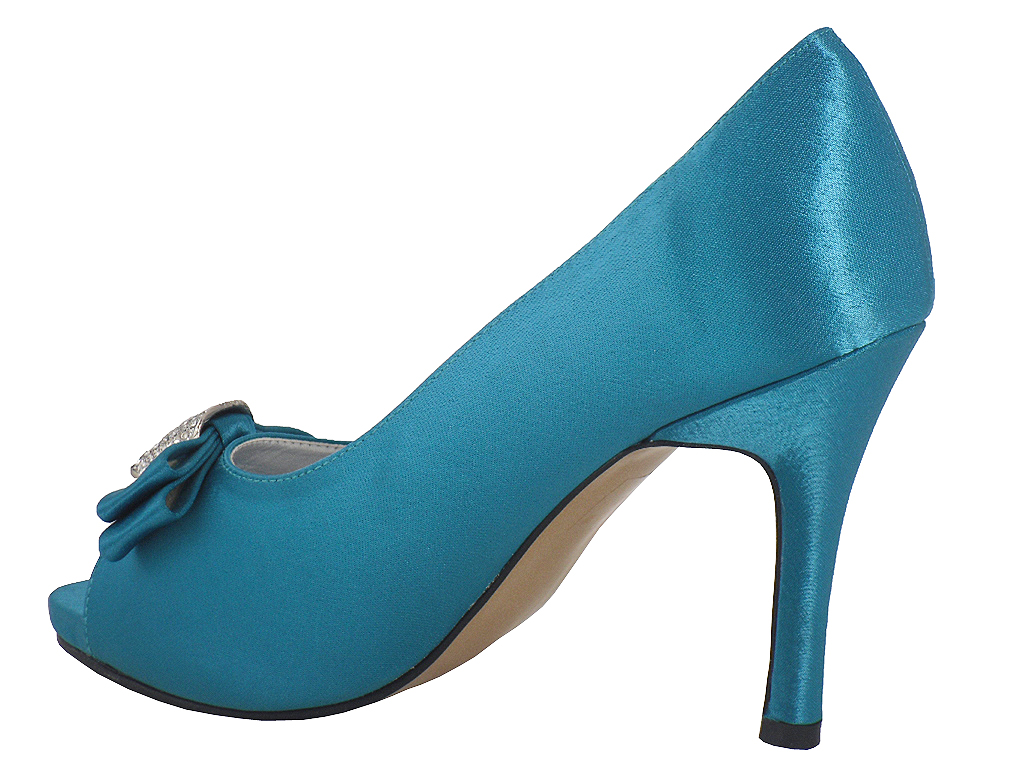 Teal Wedding Shoes 025 - Teal Wedding Shoes